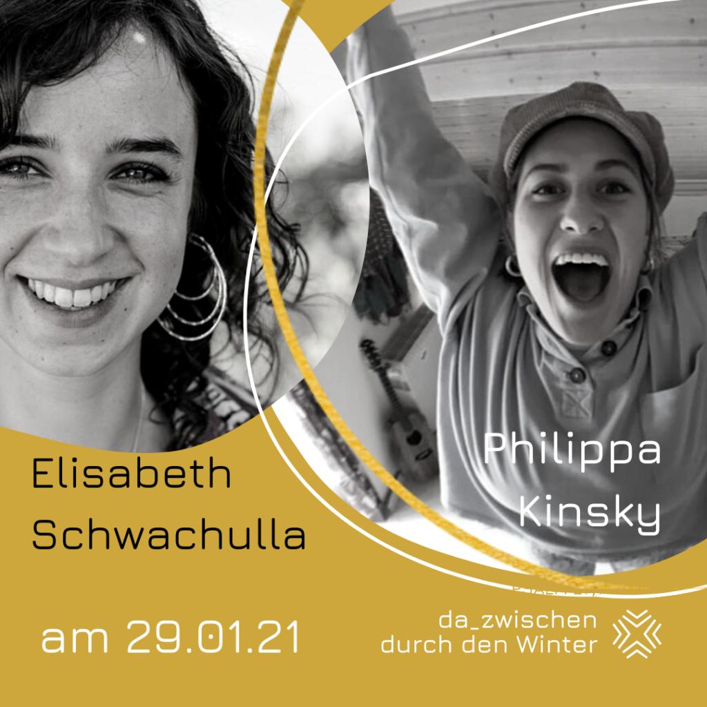 Philippa und Elisabeth 29 01 1 1024x1024 - ... durch den Winter: Mit Philippa Kinsky und Elisabeth Schwachulla